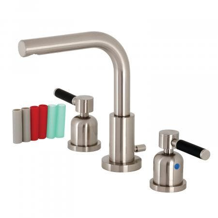 Fauceture FSC8958DKL 8 in. Widespread Bathroom Faucet, Brushed Nickel