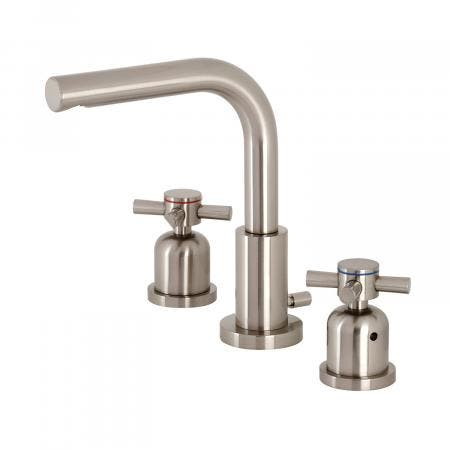 Fauceture FSC8958DX 8 in. Widespread Bathroom Faucet, Brushed Nickel