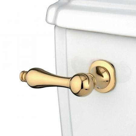 Kingston Brass KTAL2 Victorian Toilet Tank Lever, Polished Brass