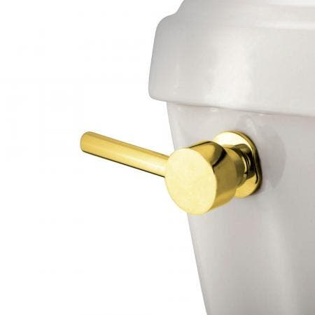 Kingston Brass KTDL2 Concord Toilet Tank Lever, Polished Brass
