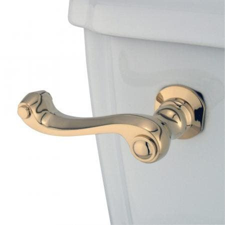 Kingston Brass KTFL52 Royale Toilet Tank Lever, Polished Brass