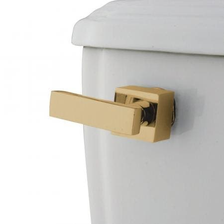 Kingston Brass KTQLL2 Executive Toilet Tank Lever, Polished Brass