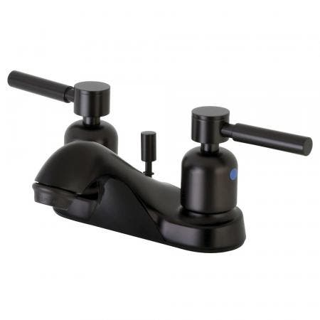 Kingston Brass FB5625DL 4 in. Centerset Bathroom Faucet, Oil Rubbed Bronze