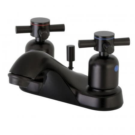 Kingston Brass FB5625DX 4 in. Centerset Bathroom Faucet, Oil Rubbed Bronze