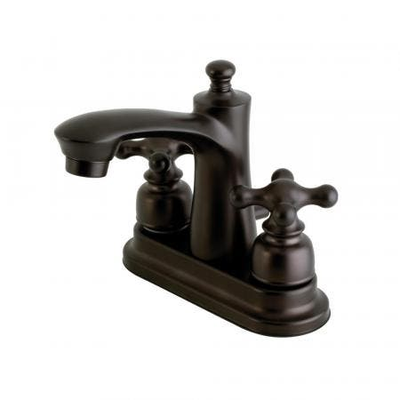 Kingston Brass FB7625AX 4 in. Centerset Bathroom Faucet, Oil Rubbed Bronze