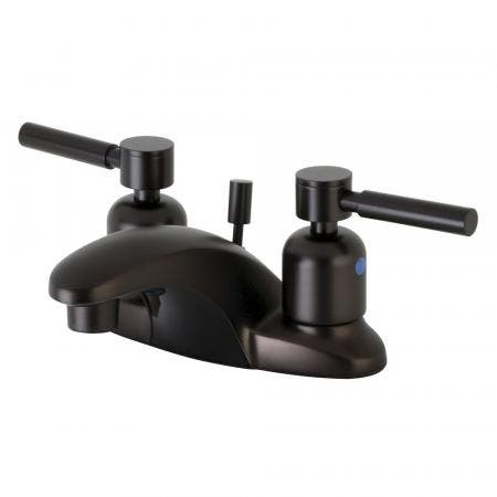 Kingston Brass FB8625DL 4 in. Centerset Bathroom Faucet, Oil Rubbed Bronze