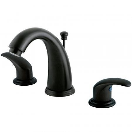 Kingston Brass GKB985LL Widespread Bathroom Faucet, Oil Rubbed Bronze