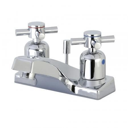 Kingston Brass FB201DX 4 in. Centerset Bathroom Faucet, Polished Chrome