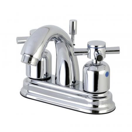 Kingston Brass FB5611DX 4 in. Centerset Bathroom Faucet, Polished Chrome
