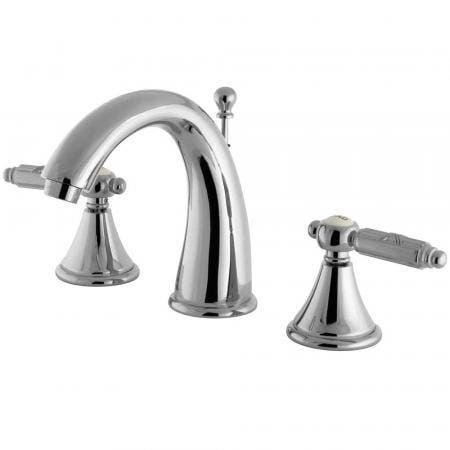 Fauceture FS7981GL 8 in. Widespread Bathroom Faucet, Polished Chrome