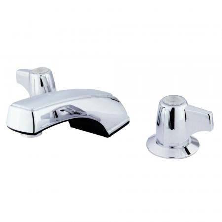 Kingston Brass GKB920LP Widespread Bathroom Faucet, Polished Chrome