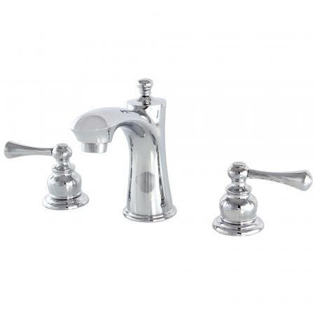 Kingston Brass KB7961BL 8 in. Widespread Bathroom Faucet, Polished Chrome