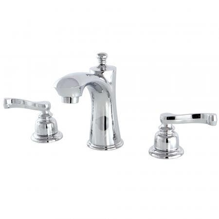 Kingston Brass KB7961FL 8 in. Widespread Bathroom Faucet, Polished Chrome