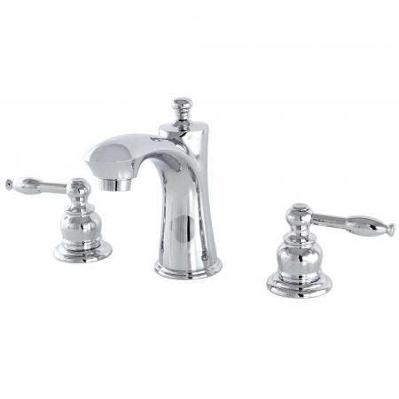 Kingston Brass KB7961KL 8 in. Widespread Bathroom Faucet, Polished Chrome