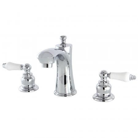 Kingston Brass KB7961PL 8 in. Widespread Bathroom Faucet, Polished Chrome