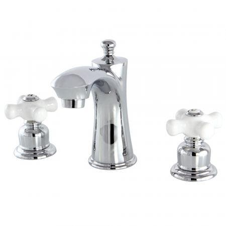 Kingston Brass KB7961PX 8 in. Widespread Bathroom Faucet, Polished Chrome