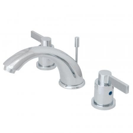 Kingston Brass KB8961NDL 8 in. Widespread Bathroom Faucet, Polished Chrome