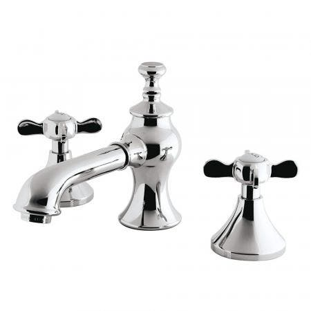 Kingston Brass KC7061BEX 8 in. Widespread Bathroom Faucet, Polished Chrome