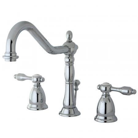 Kingston Brass KS1991TAL 8 in. Widespread Bathroom Faucet, Polished Chrome