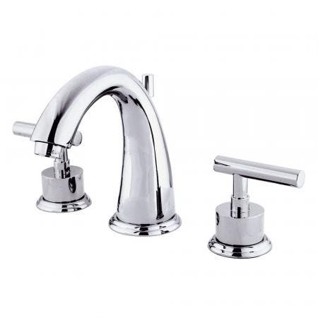 Kingston Brass KS2961CML 8 in. Widespread Bathroom Faucet, Polished Chrome