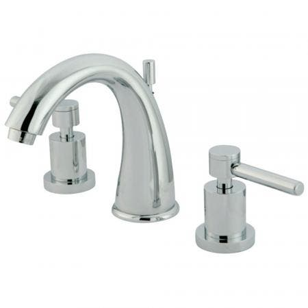 Kingston Brass KS2961DL 8 in. Widespread Bathroom Faucet, Polished Chrome