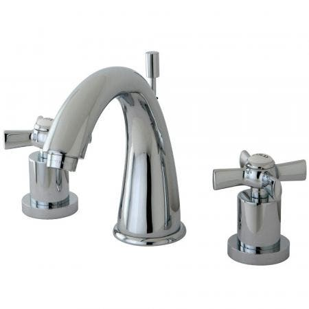 Kingston Brass KS2961ZX 8 in. Widespread Bathroom Faucet, Polished Chrome
