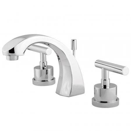 Kingston Brass KS4981CML 8 in. Widespread Bathroom Faucet, Polished Chrome