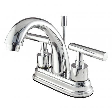 Kingston Brass KS8611CML 4 in. Centerset Bathroom Faucet, Polished Chrome