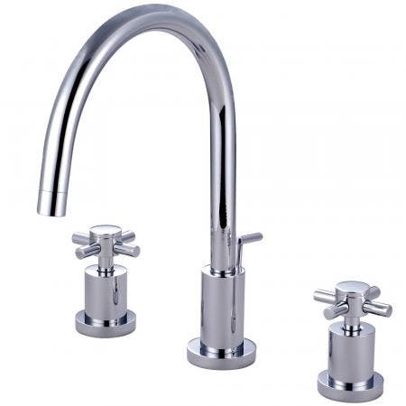 Kingston Brass KS8921DX 8 in. Widespread Bathroom Faucet, Polished Chrome