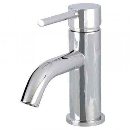 Fauceture LS8221DL Concord Single-Handle Bathroom Faucet with Push Pop-Up, Polished Chrome