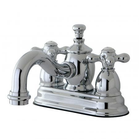 Kingston Brass KS7101AX 4 in. Centerset Bathroom Faucet, Polished Chrome