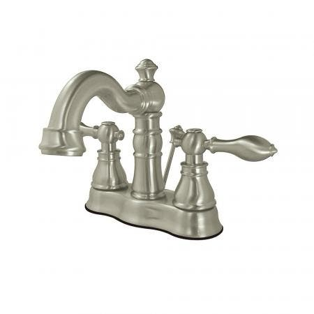 Fauceture FS1608ACL 4 in. Centerset Bathroom Faucet, Brushed Nickel