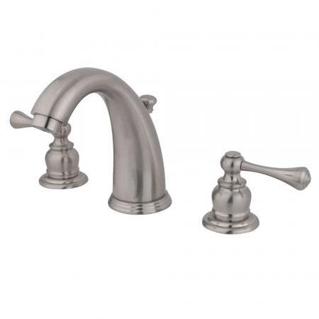 Kingston Brass GKB988BL Widespread Bathroom Faucet, Brushed Nickel