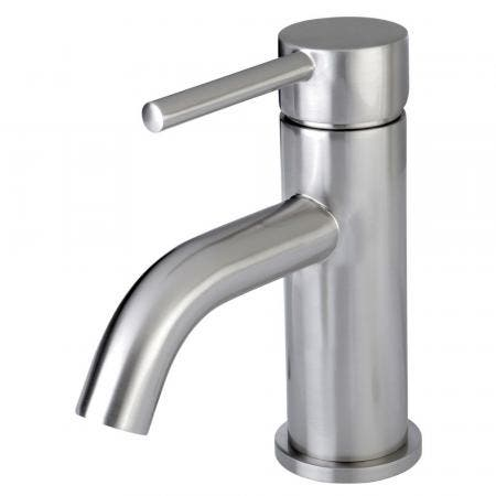 Fauceture LS8228DL Concord Single-Handle Bathroom Faucet with Push Pop-Up, Brushed Nickel