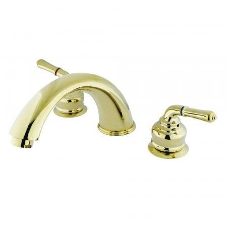 Kingston Brass KC362 Magellan Roman Tub Filler with Lever Handle
