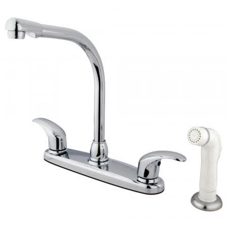 Kingston Brass GKB711LL Legacy Centerset Kitchen Faucet, Polished Chrome
