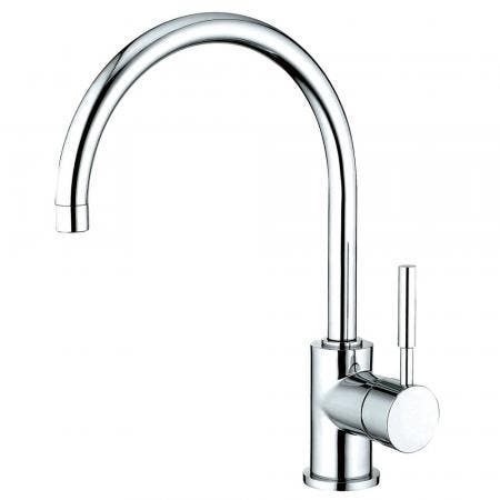 "Kingston Brass KS8711DLLS Concord 8"" Centerset Kitchen Faucet, Polished Chrome"