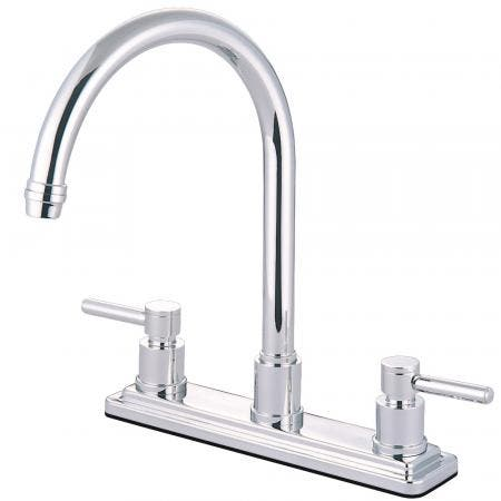 Kingston Brass KS8791DLLS Concord Centerset Kitchen Faucet, Polished Chrome