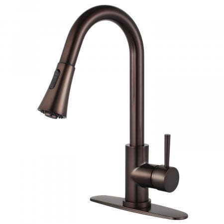 Gourmetier LS8725DL Concord Kitchen Faucet with Pull-Down Sprayer, Oil Rubbed Bronze