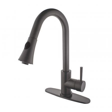 Gourmetier LS8725DL Concord Single-Handle Pull-Down Kitchen Faucet, Oil Rubbed Bronze