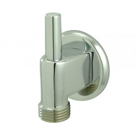 Kingston Brass K174A1 Showerscape Wall Mount Supply Elbow with Pin Wall Hook, Polished Chrome
