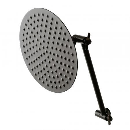 Kingston Brass CK136K5 Victorian Showerhead and High Low Adjustable Arm In Retail Packaging, Oil Rubbed Bronze