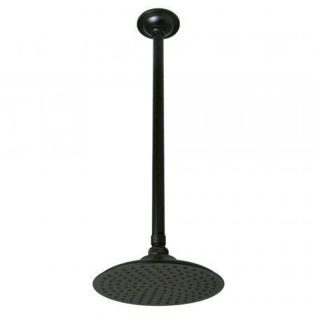 """Kingston Brass K236K25 Victorian Shower Head With 17"""" Ceiling Mounted Shower Arm, Oil Rubbed Bronze"""