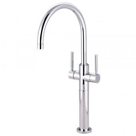 Kingston Brass KS8091DL Vessel Sink Faucet, Polished Chrome
