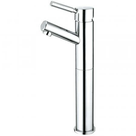 Kingston Brass KS8411DL Vessel Sink Faucet, Polished Chrome