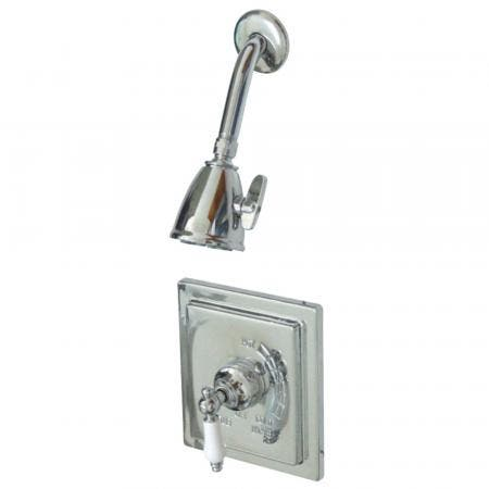 Kingston Brass VB8651PLSO Victorian Tub & Shower Shower Faucet, Polished Chrome
