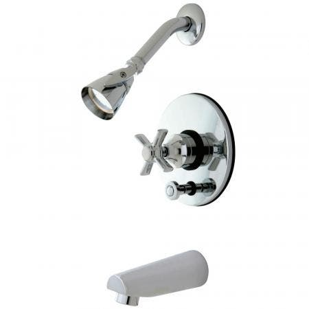 Kingston Brass KB86910ZX Tub/Shower Faucet, Polished Chrome