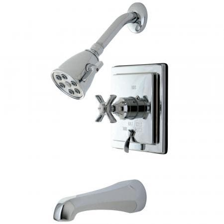 Kingston Brass VB86510ZX Tub/Shower Faucet, Polished Chrome
