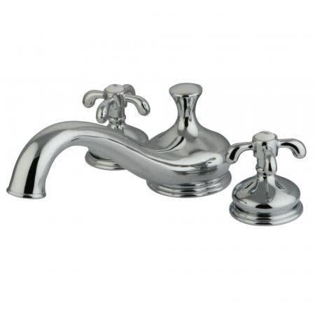 Kingston Brass KS3331TX French Country Roman Tub Filler,CP