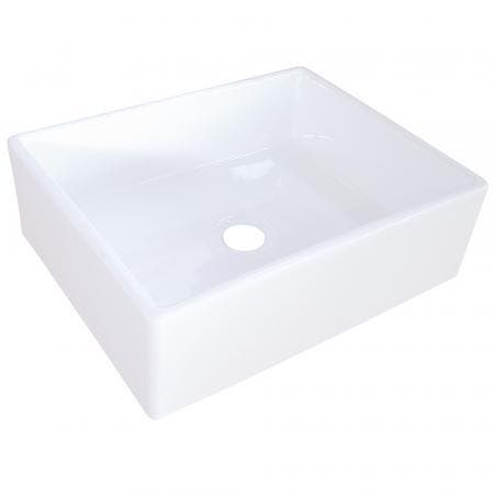 Fauceture EV4158 Elements Vessel Sink, White